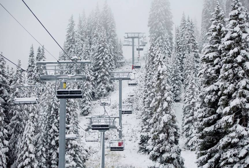 Colorado's 4 Major Ski Resorts Get Snow!