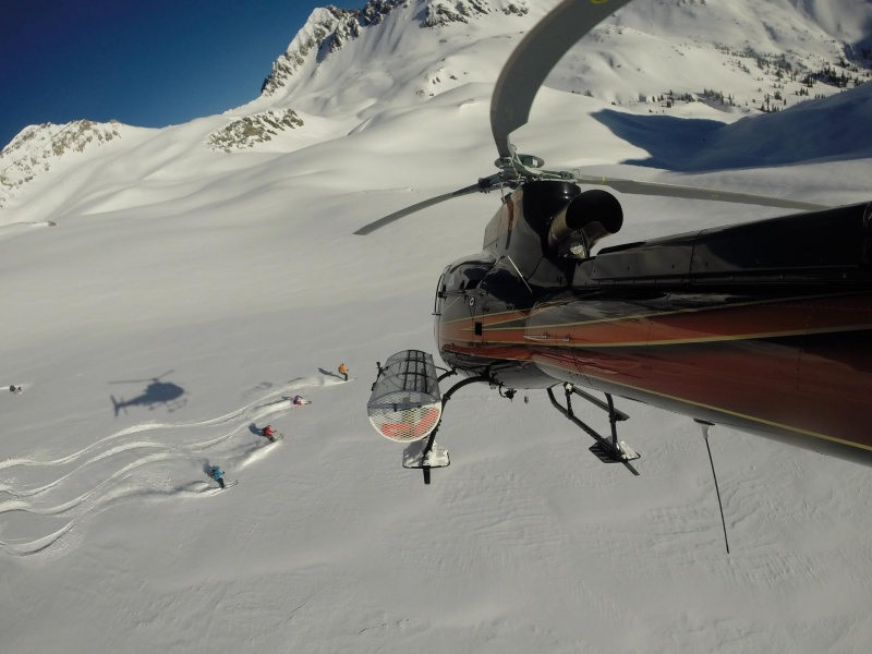 HELI-SKIING FLIES INTO THE VAILVALLEY