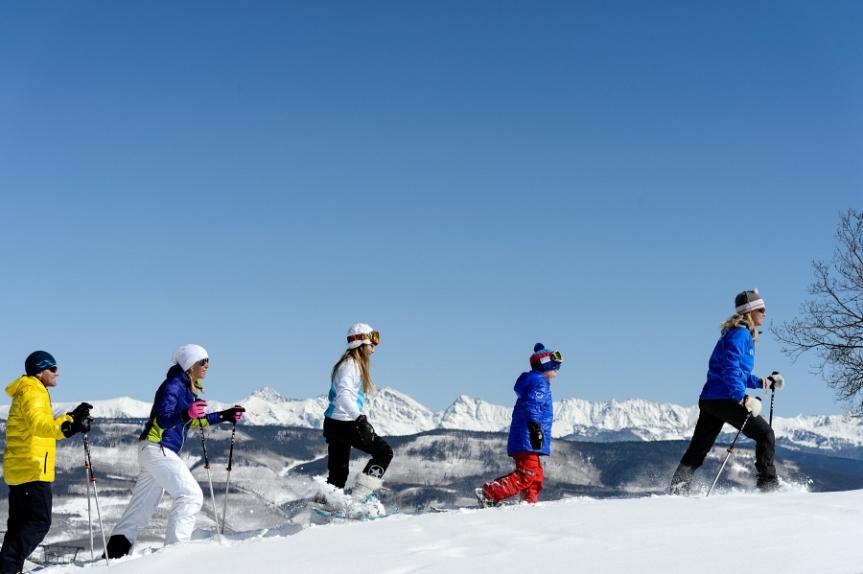 Gourmet Snowshoe Adventures