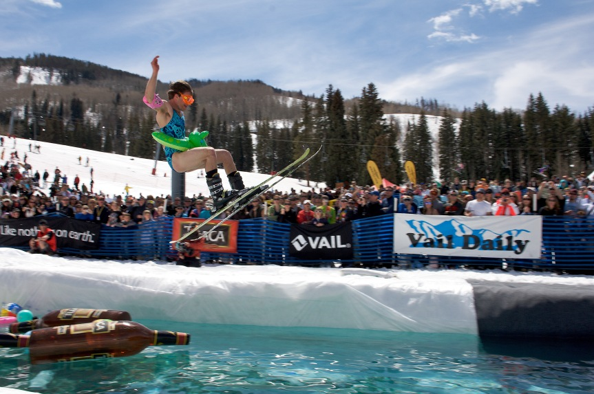 Vail World Pond Skimming Championships